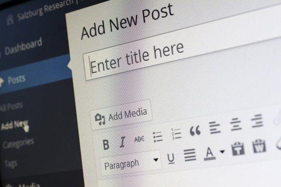 editor de WordPress para redactar contenido Inbound Marketing